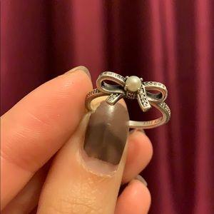Pandora Pearl Ring 7.5